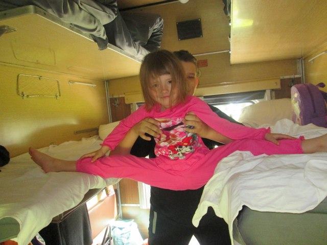 Поезд Москва-Архангельск