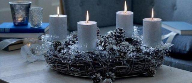 Серые свечи в магии