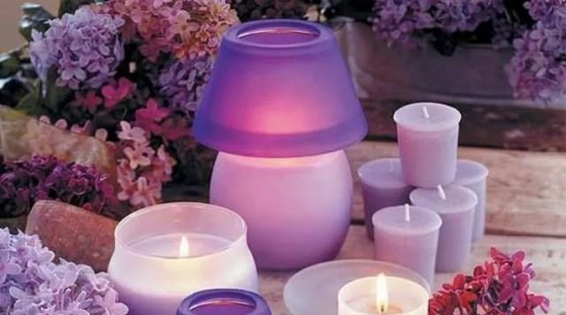 Цвет лаванды свечей в магии