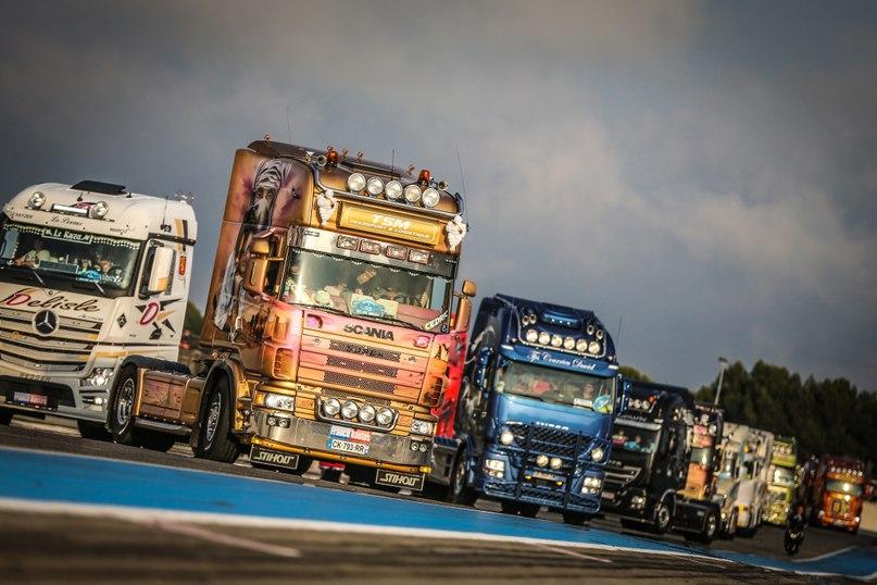 гонкам на грузовиках