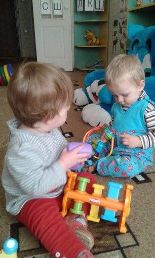частные ясли Няня-дом развитие малышей
