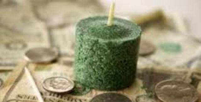 Зеленые свечи в магии