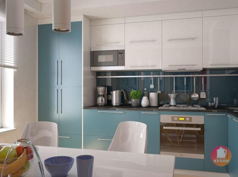 дизайн кухни 9 кв м фото 1