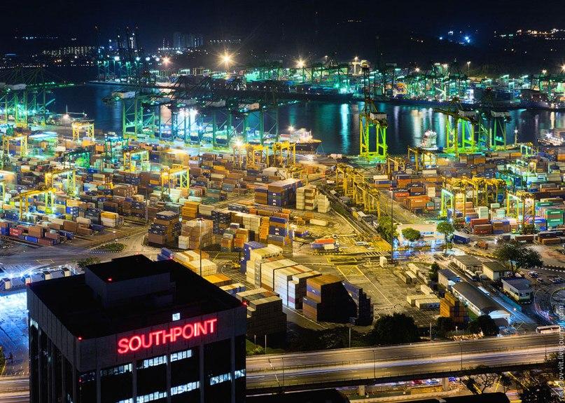 Самые оживлённые морские порты мира