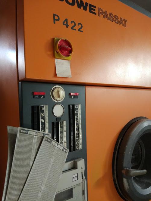 машина химчистки boewe на перфокартах