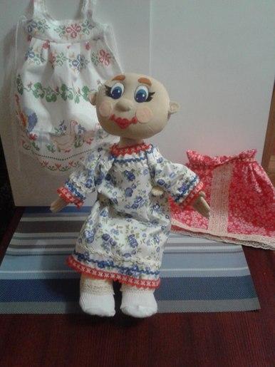 Русский костюм для куклы.