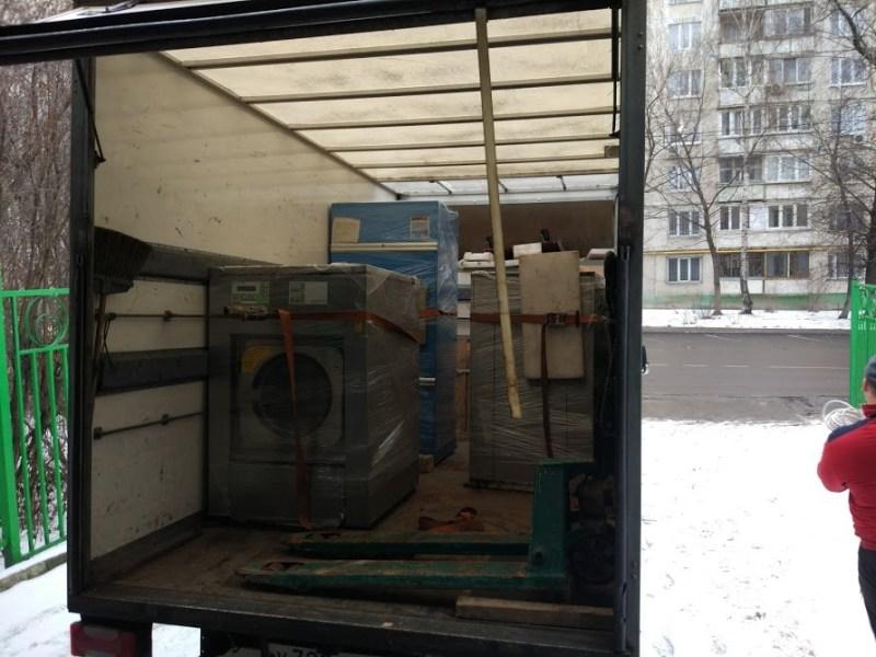 перевозка прачечного оборудования