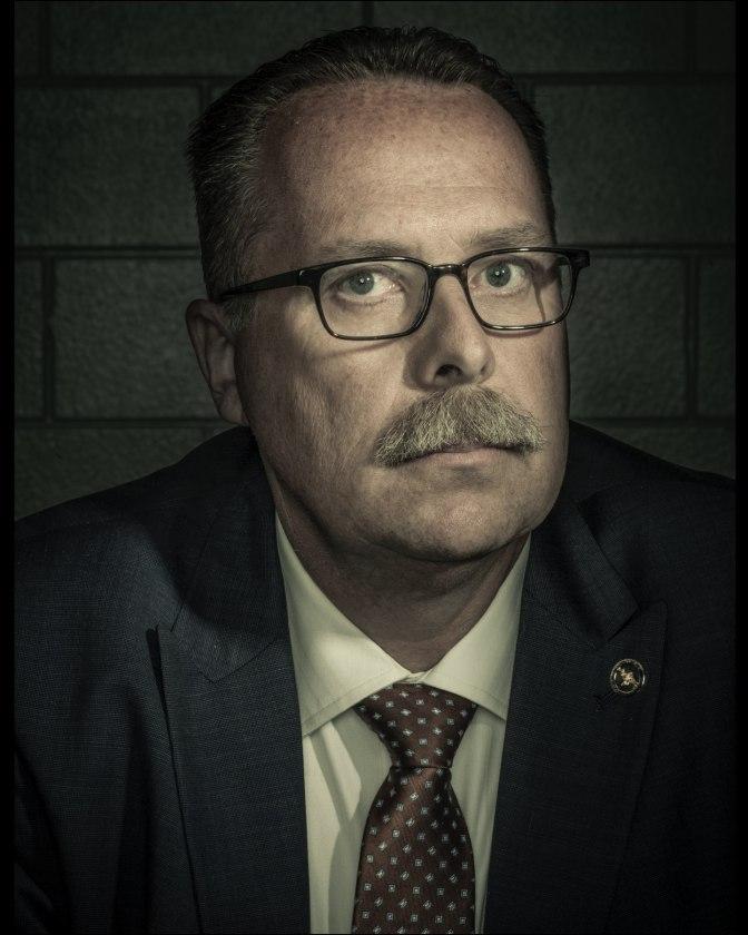 Тим Марсия из отдела грабежей и убийств полиции Лос-Анджелеса. Фото: Дэн Уинтерс
