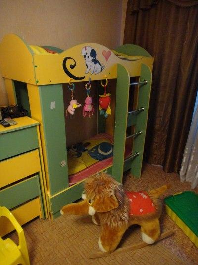 Частный детский сад Воронежа Няня-Дом детская спальня