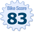 Bike Score of 20 Turntable Crescent Toronto ON Canada