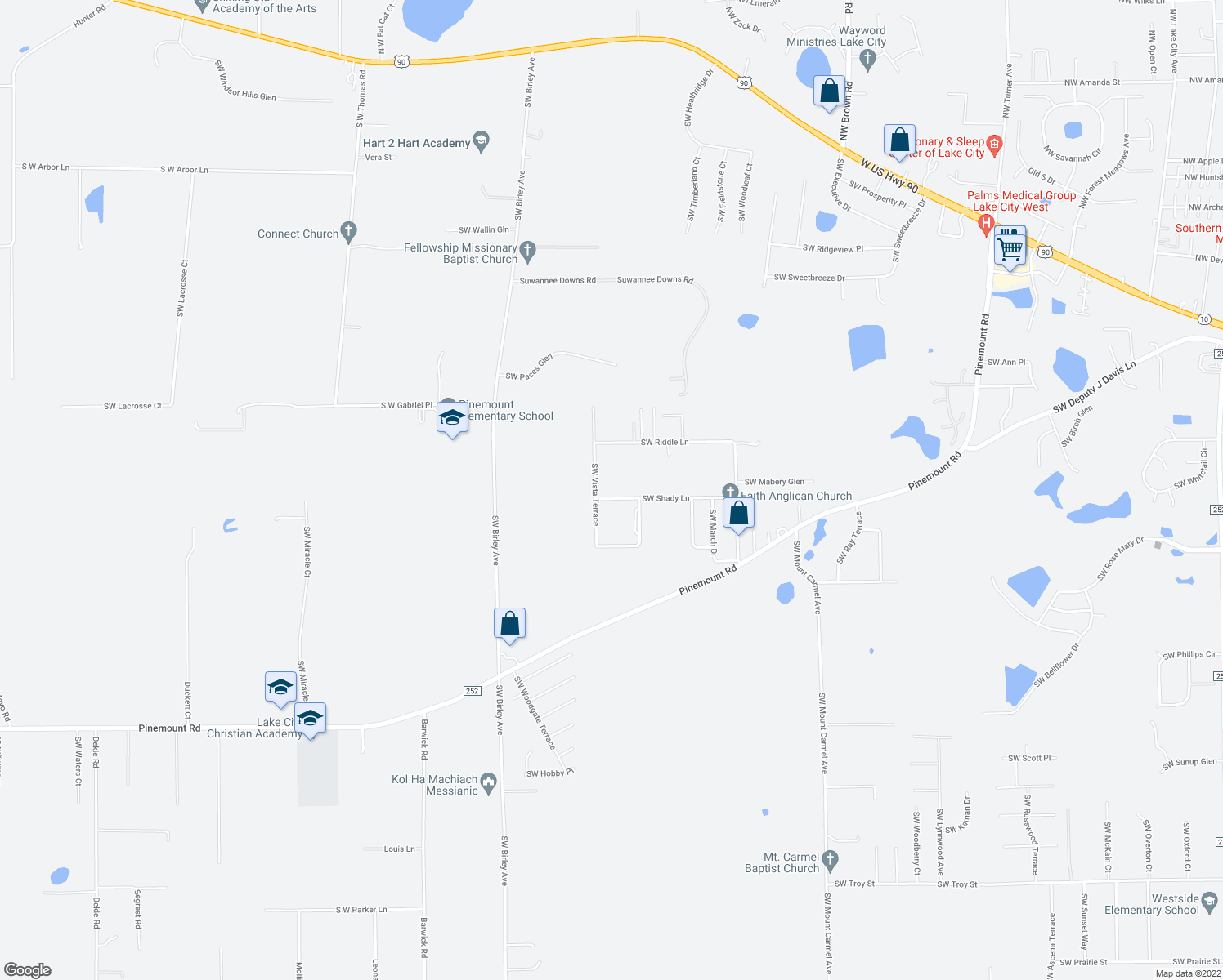 city map of fl