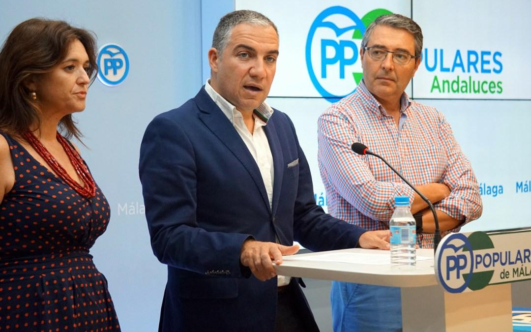 """Bendodo: """"El del PSOE-A es un congreso de emergencia porque a Díaz le ha entrado el pánico"""""""