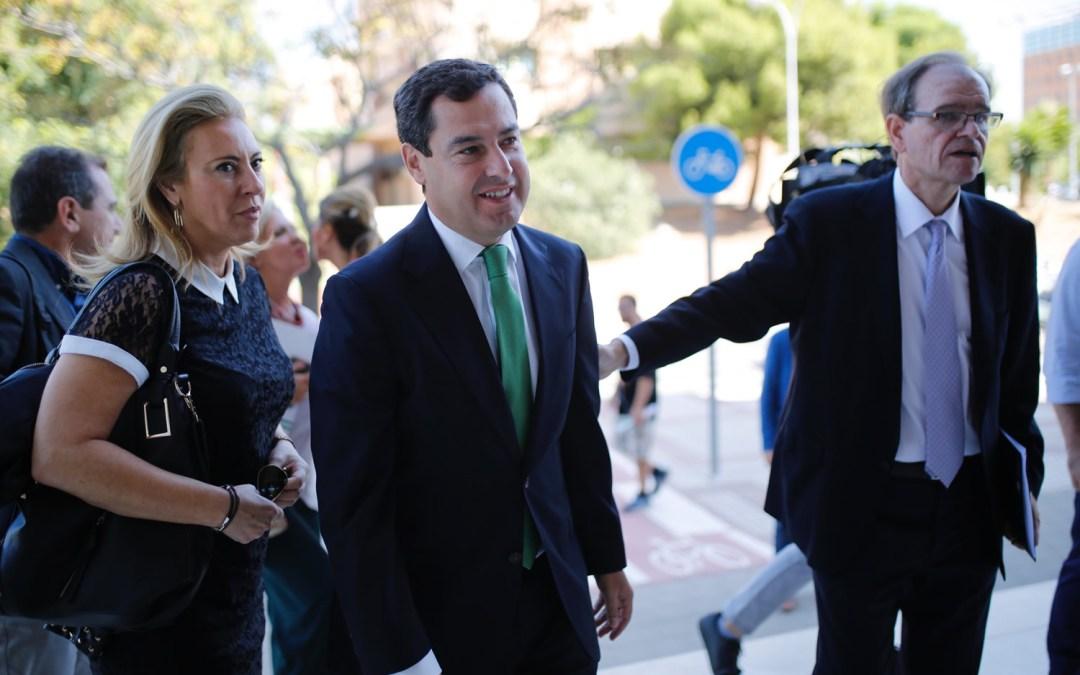 """Juanma Moreno exige a Díaz que solvente los """"graves problemas"""" de la Educación en Andalucía"""