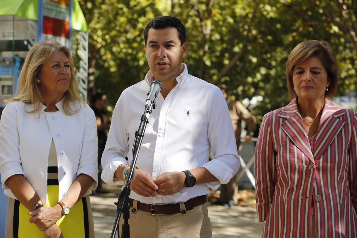 Juanma Moreno retirará la enmienda a la totalidad de los presupuestos si el PSOE apuesta por el acuerdo