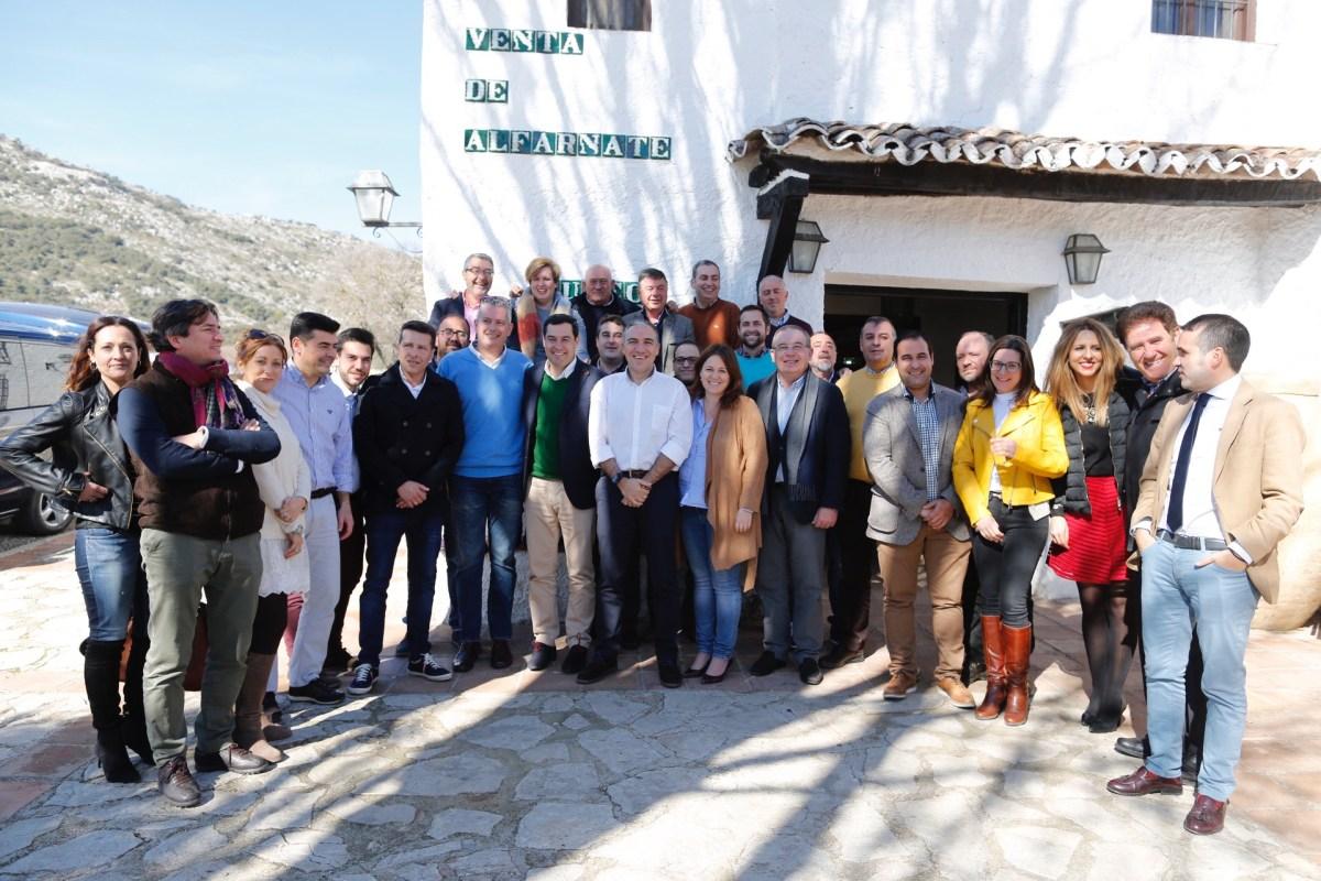 Moreno exige a la Junta que solvente su deuda histórica con las carreteras de la Axarquía