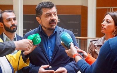 """Martín: """"El PPA lleva la camiseta de Andalucía y el PSOE tiene que hacer lo mismo apoyando los PGE"""""""