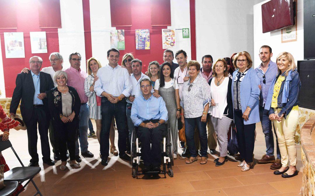Bellido se compromete a ofrecer servicios básicos a las parcelaciones tras la modificación de la LOUA