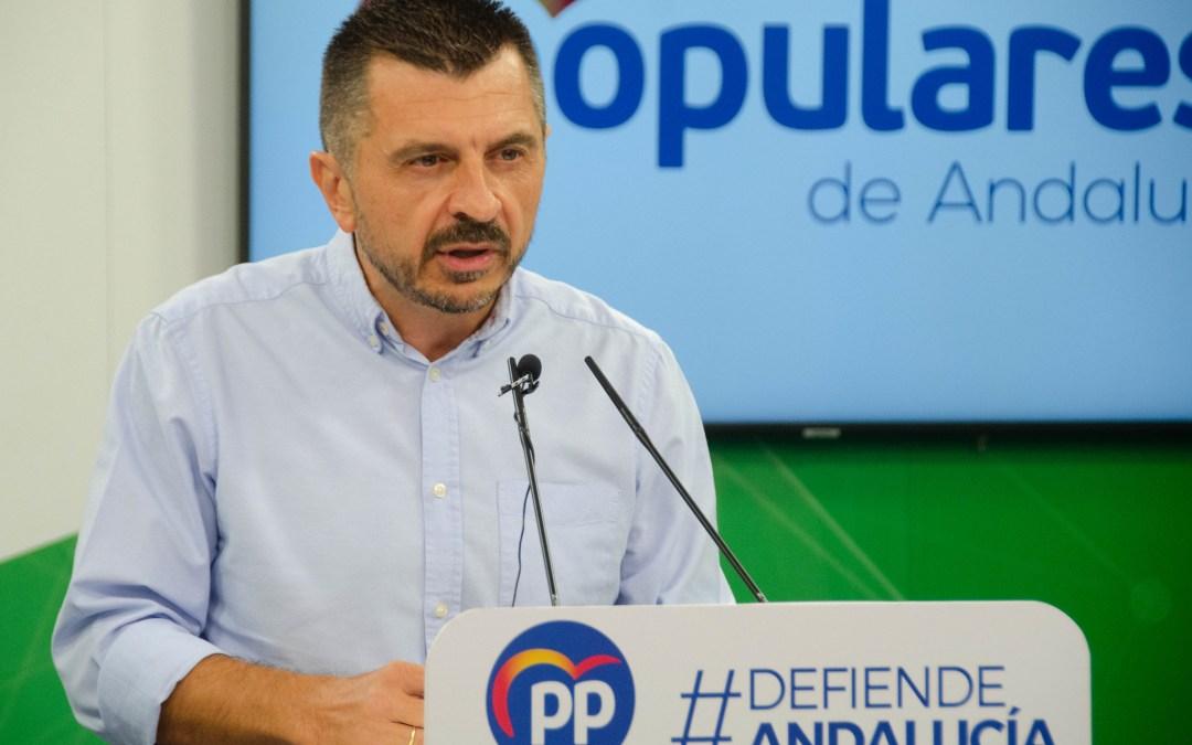 """Martín: """"Juanma Moreno defenderá mañana hasta el ultimo euro de los 23.000 millones de la UE que pertenecen a Andalucía"""