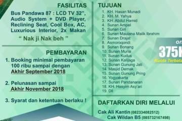 Ziarah Wali Songo - Haflatul Imtihan 2019 PP. Anwarul Huda