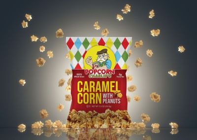 Popcorn Charlie's new product released with PPC Flex Packaging ™