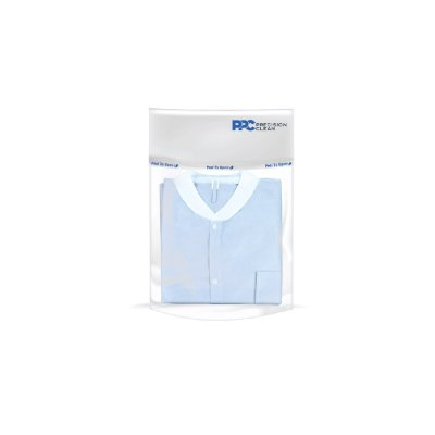 Cleanroom packaging uploads header bag header pouch