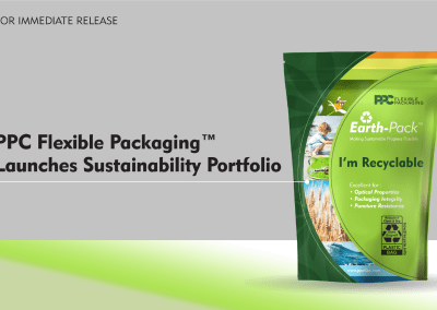 PPC Flexible Packaging ™ Launches Sustainability Portfolio