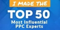 i made the top 50 influential ppc experts small image