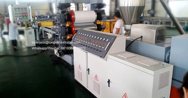 edge banding sheet extruder machine