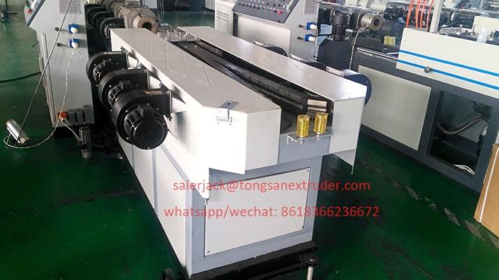 single wall corrugated pipe machine