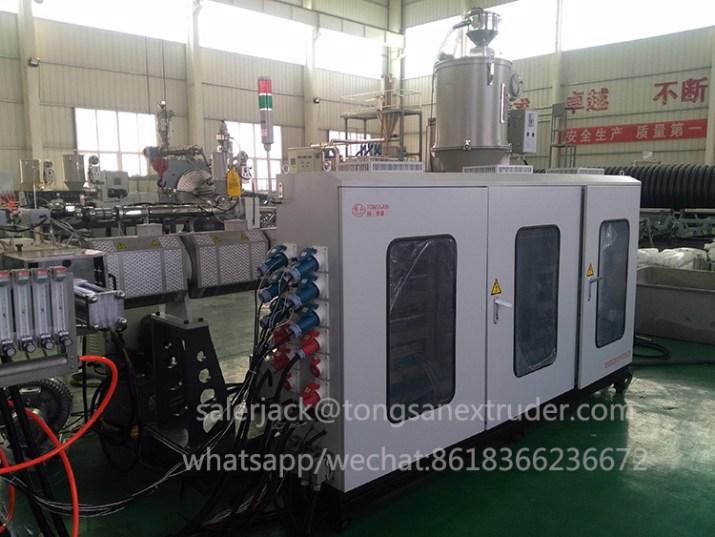 pp hollow sheet extruder machine