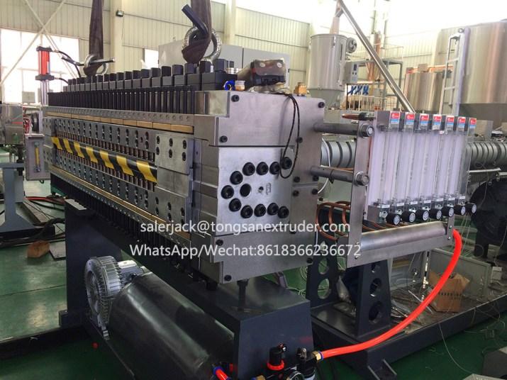 PP hollow sheet machine