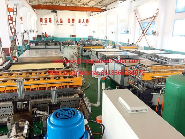 coroplast sheet machine