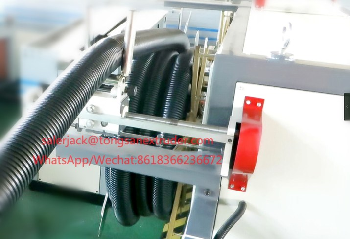 PA nylon corrugated pipe production line