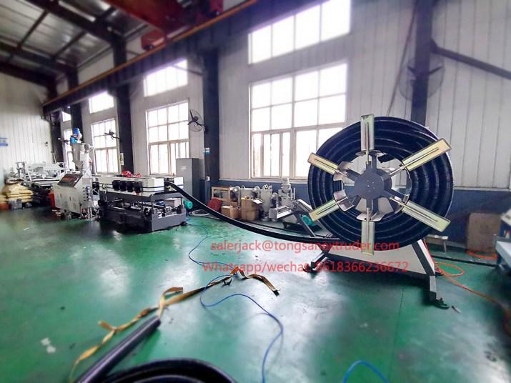 nylon corrugated pipe extrusion machine