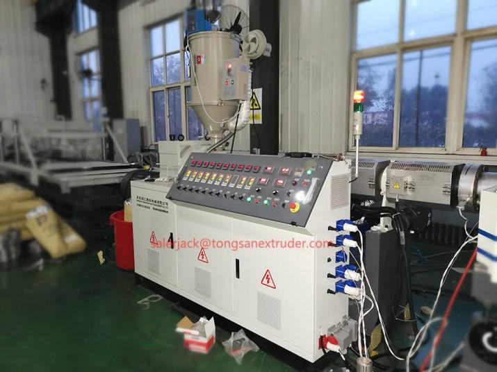 nylon pipe extruder machine