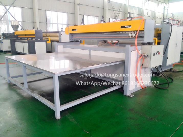 plastic hollow sheet machine