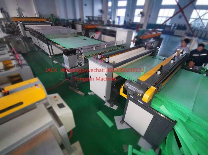 PP hollow sheet making machine