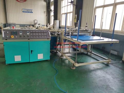 pp corrugated sheet edge sealing machine