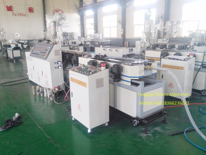 kitchen sink corrugated pipe extrusion line