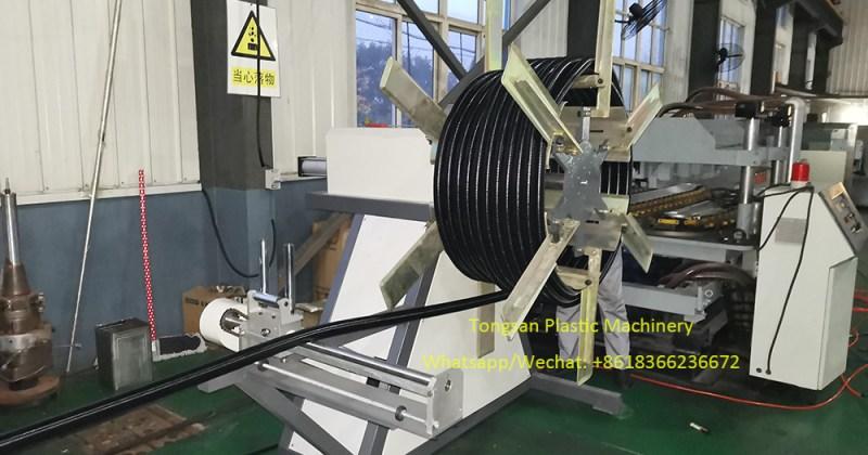 nylon polyamide pipe making machine