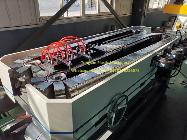 nylon pa corrugated pipe production line