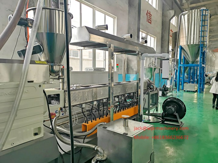 Wood Plastic Granulating Machine