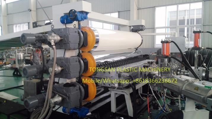 ABS sheet extrusion machine