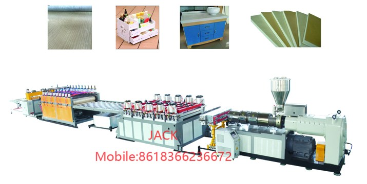 WPC Furniture Board Extrusion Machine