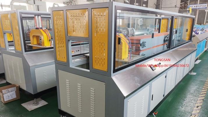 Máquina extrusora de perfiles PP PE ABS