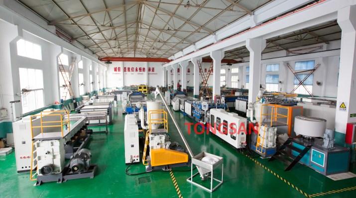 Fabricante de máquinas de Laminas Plastico Corrugado