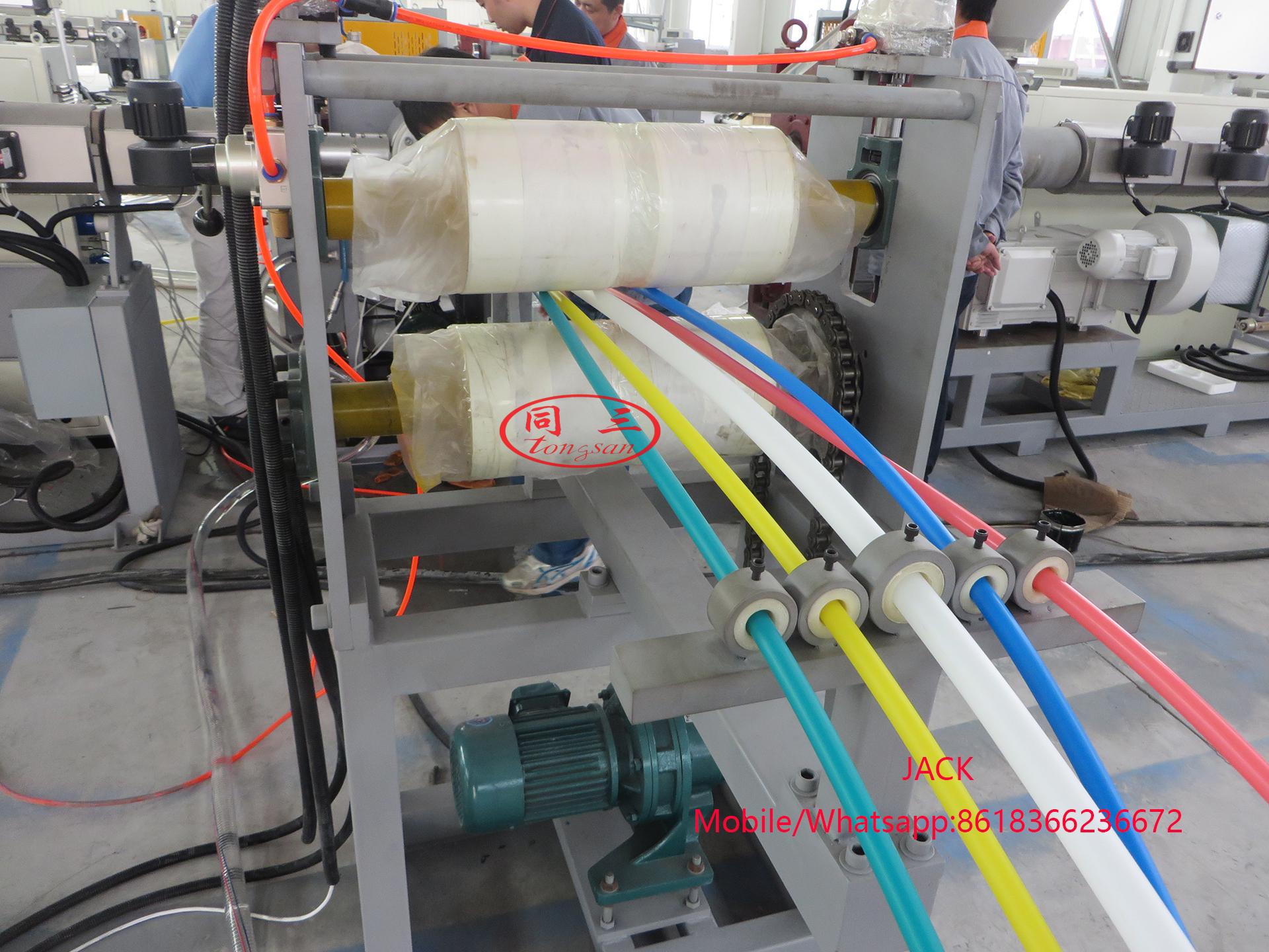 Máquina de microductos HDPE