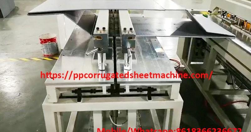 PP Hollow Sheet Welding Machine