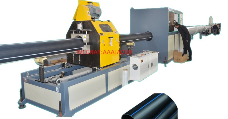 HDPE pipe production machine
