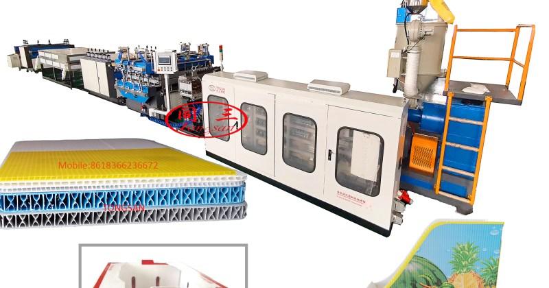 Máquina Extrusora de Láminas Plástico Corrugado